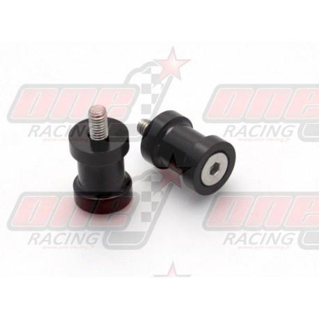 Pions de bras oscillant R&G Racing M10 couleur Noir