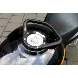Poignée de réservoir A-SIDER Black Edition 5 vis couleur noir pour Cagiva, Ducati et Mv Agusta
