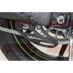 Protège couronne (dent de requin) R&G Racing en abs noir