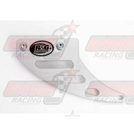 Protège couronne (dent de requin) R&G Racing en alu pour Triumph Daytona 675 (2006-2013)