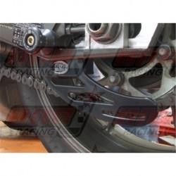 Protège couronne (dent de requin) R&G Racing en polyéthylène pour Triumph Daytona 675 (2013-2015)