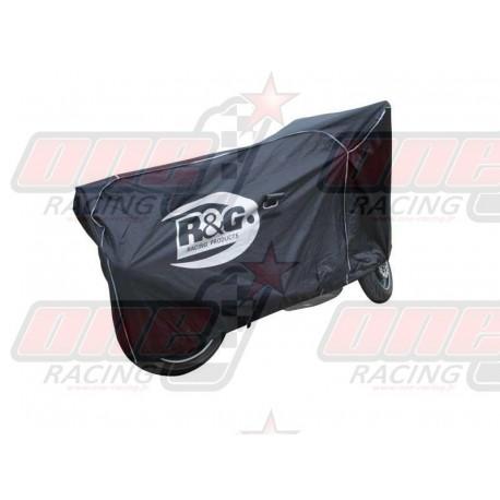 Housse de protection moto noir R&G Racing universelle pour extérieur