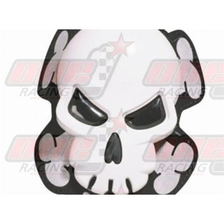 Sliders Oxford Skull blanc