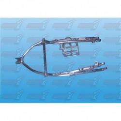 Boucle arrière racing alu avec support batterie (arrière de cadre) pour Honda CBR1000 RR (2004-2007)
