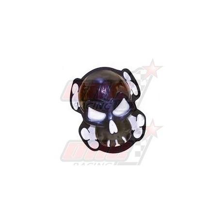 Sliders Oxford Skull noir