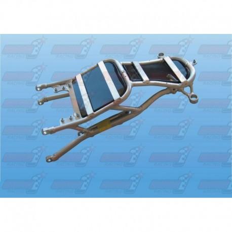 Boucle arrière racing alu avec support batterie carbone (arrière de cadre) pour Yamaha R1 (2009-2013)