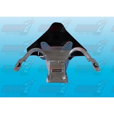 Araignée racing aluminium avec ram air GFK pour Ducati 1199 R Panigale