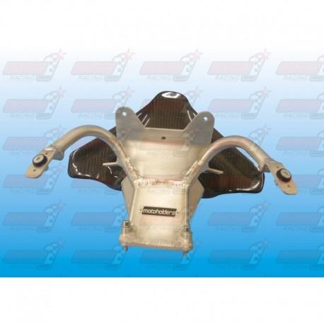 Araignée racing aluminium avec ram air carbone pour Ducati 1199 R Panigale
