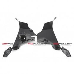 Couvercle de conduits d'admission carbone FullSix pour Ducati Panigale V4