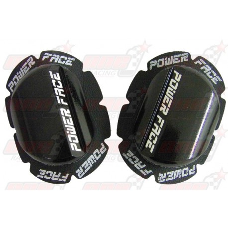 Sliders bois Power Face couleur noir