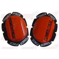 Sliders bois Power Face couleur rouge