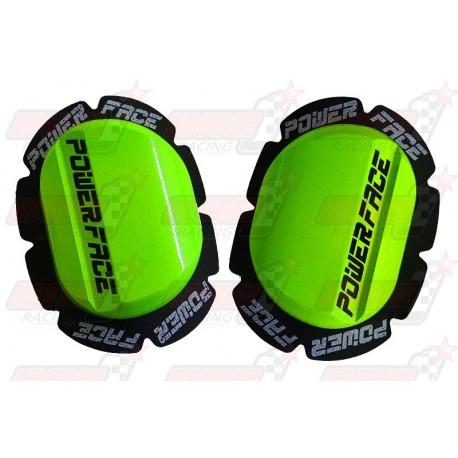 Sliders bois Power Face couleur vert
