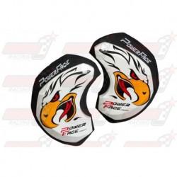 Sliders bois Power Face motif Aigle