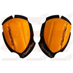Sliders bois Power Face Spécial Course couleur orange