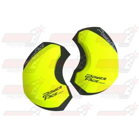 Sliders bois Power Face Race couleur jaune