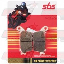 Plaquettes de frein avant S.B.S. 519DCC