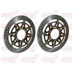 Disques de frein avant Brembo série T-Drive 320mm 5.5mm pour Ducati 749/999 (2003+) 849 (2008+) 1098 (2007+)