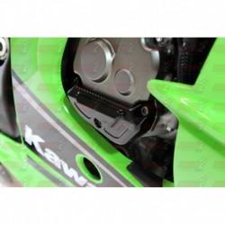 Protection de carter moteur droit MP-R Gilles Tooling pour Kawasaki ZX-10 R (2011-2015)