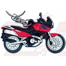 Porte-clés Suzuki XF 650 Freewind rouge