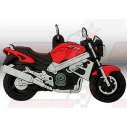 Porte-clés Honda X11 2000 rouge