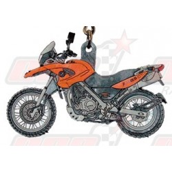 Porte-clés Bmw F650 2002 orange