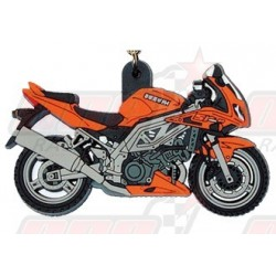 Porte-clés Suzuki SV 1000 S 2003 orange