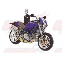 Porte-clés 3D Ducati Monstro S4R 2004 bleu/blanc