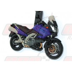 Porte-clés 3D Suzuki  DL 1000/650 2005 bleu