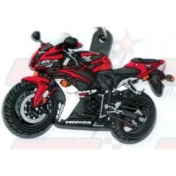 Porte-clés 3D Honda CBR 600 RR 2007 rouge/noir