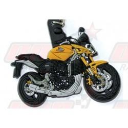 Porte-clés 3D Honda Hornet 2007 jaune