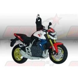 Porte-clés 3D Honda CB 1000 R Tricolore