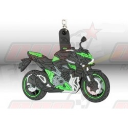 Porte-clés 3D Kawasaki Z 800 vert