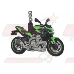 Porte-clés 3D Kawasaki Z 900 vert