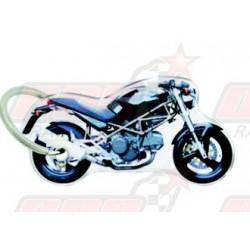 Porte-clés résine Ducati Monster Dark
