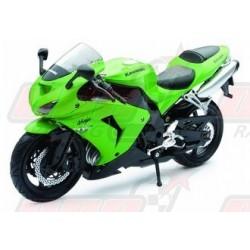 Modèle réduit 1/12 Kawasaki ZX10 R verte