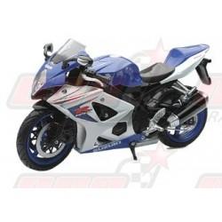 Modèle réduit 1/12 Suzuki GSXR 1000 bleu/blanc