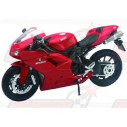 Modèle réduit 1/12 Ducati 1198 rouge