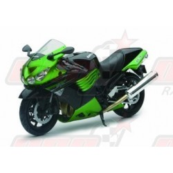 Modèle réduit 1/12 Kawasaki ZX14 R Ninja verte