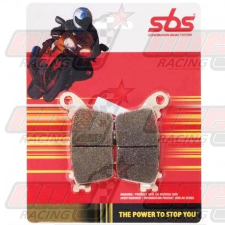 Plaquettes de frein arrière S.B.S. 657RQ