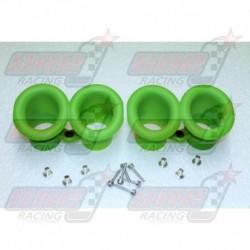 Cornet d'admission Venturi System pour Kawasaki ZX10-R Kit Green (2011-2015)