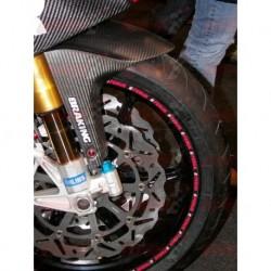 Lèche roue avant carbone Plastic Bike pour Aprilia RSV4 (2009-2016)