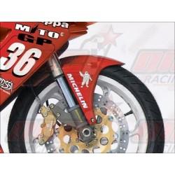 Lèche roue avant fibre Plastic Bike pour Cagiva Mito 125 EV / Mito SP525