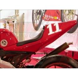 Coque arrière racing fibre Plastic Bike pour Cagiva Mito SP525