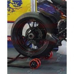 Lèche roue arrière fibre Plastic Bike pour Ducati 1199 Panigale (2012-2014) / 1299 Panigale (2015-2018)