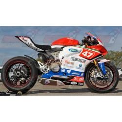 Carénage racing fibre Plastic Bike pour Ducati 1199 Panigale (2012-2014)