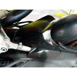 Lèche roue arrière carbone Plastic Bike pour Ducati 1199 Panigale (2012-2014) / 1299 Panigale (2015-2018)