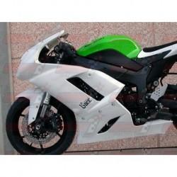 Carénage racing fibre Plastic Bike pour Kawasaki ZX-6R (2007-2008)