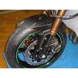 Lèche roue avant carbone Plastic Bike pour Kawasaki ZX-6R (2009-2018) / ZX-10R (2011-2015)