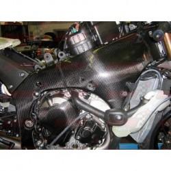 Protections de cadre carbone Plastic Bike pour Kawasaki ZX-10R (2011-2015)