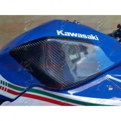 Protections de réservoir carbone Plastic Bike pour Kawasaki 300R (2013-2017)